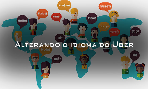 Alterando o idioma do Uber